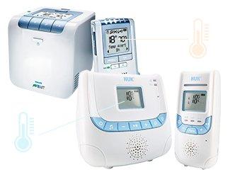 Babyphones Temperaturanzeige